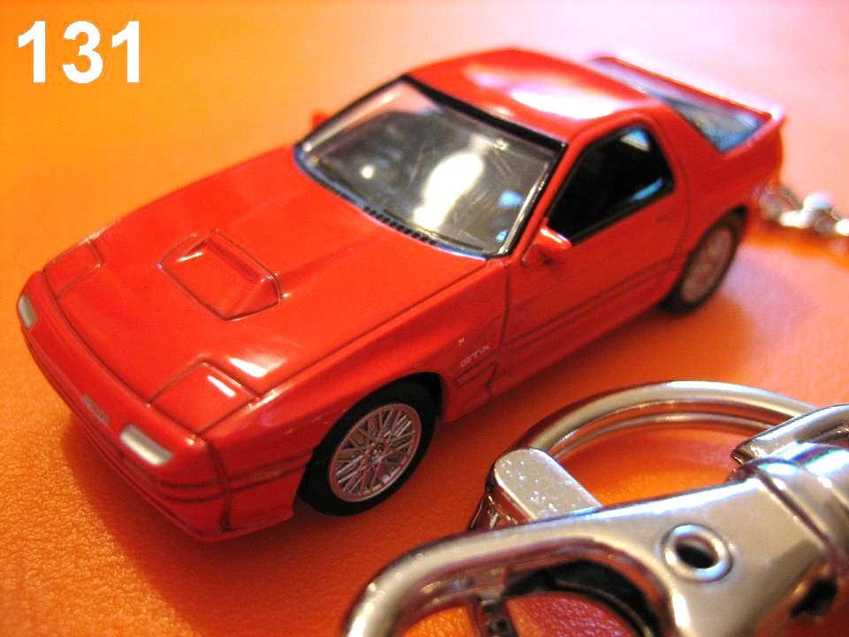 Mazda Savanna RX-7 FC3S '85~ (Red) Die-cast Key Chain